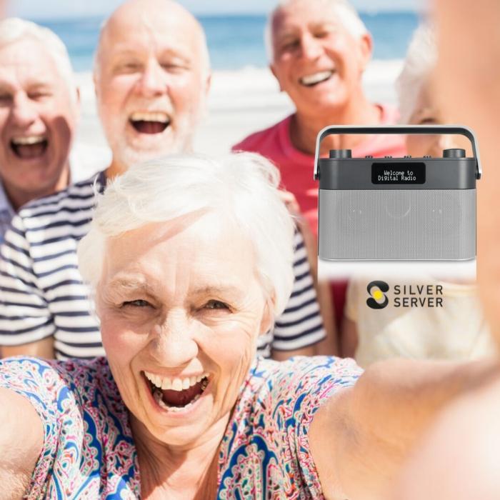 Radio for eldre og svaksynte/blinde på lager