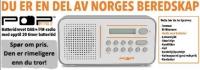 Kampanje:  Beredskapsradio som alle husstander bør ha