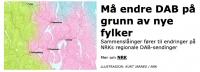 Radioen trenger nytt søk ifb med VIKEN fylke - nyttig info